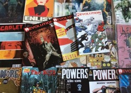 Lot of 18 INDIE COMIC BOOKS Powers Icon & IDW - $8.90