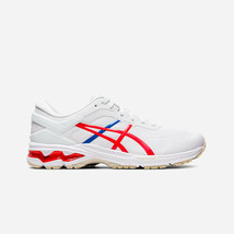 Asics Women's Kayano 26 Retro Tokyo Shoes NEW AUTHENTIC White/Red 1012A6... - $134.99