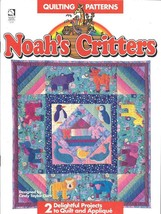 House of White Birches - Noah's Critters Quilting Pattern - $9.90