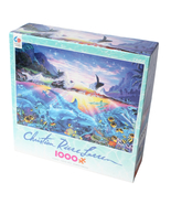 Christian Riese Lassen 1000pc Ocean Dance CEACO Puzzle 27 inches x 20 in... - £11.29 GBP