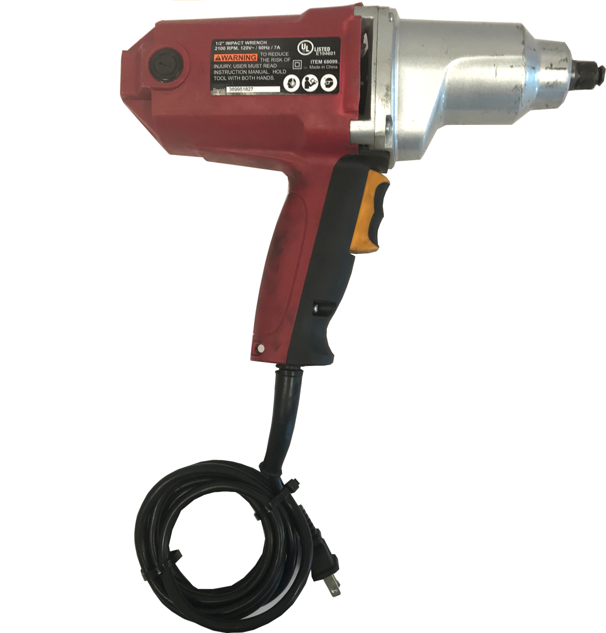 Chicago electric Corded Hand Tools 68099 image 2