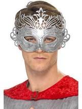 Columbine Silver Mask, Eyemasks, One Size, Unisex - $3.38