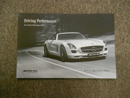 2013 MERCEDES BENZ Driving Performance AMG Engine Sales Brochure Manual 13 - $12.82