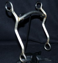 Handmade Stainless Tractor Tine Pitchfork Shank Mullen Sweetwater Mouthp... - $185.00