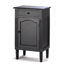 Antique Black Wood Cabinet - €110,69 EUR