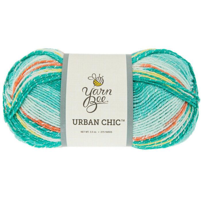 Yarn Bee Urban Chic Yarn in Mint #1346048