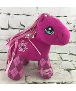 My Little Pony Cheerilee 3rd Generation Knit Plush Hasbro '07 Argyle Pla... - $14.84