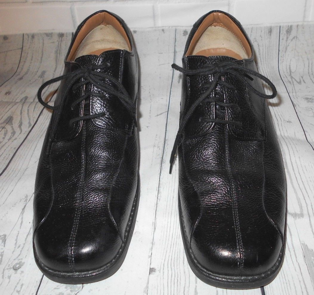 905848f07c61 Bass Mens Lex Black Leather Oxford Lacing and 50 similar items. S l1600