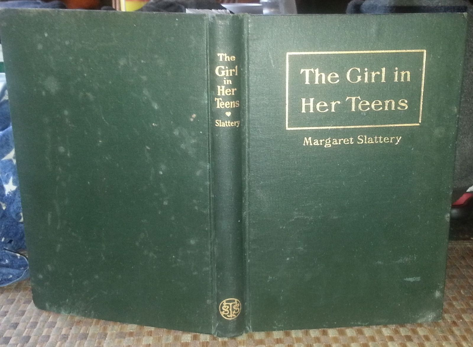 The Girl in Her Teens by Margaret Slattery 1910 HB Religious