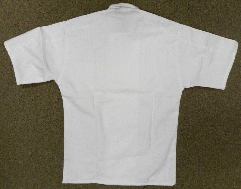 Chef Jacket L Uncommon Threads 415 White Short Sleeve Coat Uniform Unisex New image 2