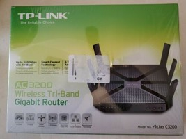 TP-LINK Archer C3200 AC3200 Wireless Tri-Band Gigabit Router Never Used! - $149.59