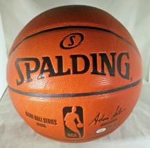 BEN SIMMONS / PHILADELPHIA 76ERS / AUTOGRAPHED FULL SIZE NBA BASKETBALL / COA image 4