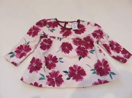 Gymboree Baby Girls floral Long Sleeve Top 6-12 months NWT - $8.90