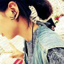 Women Halloween Black Spider Charm Ear Stud Earrings - One Pair image 6