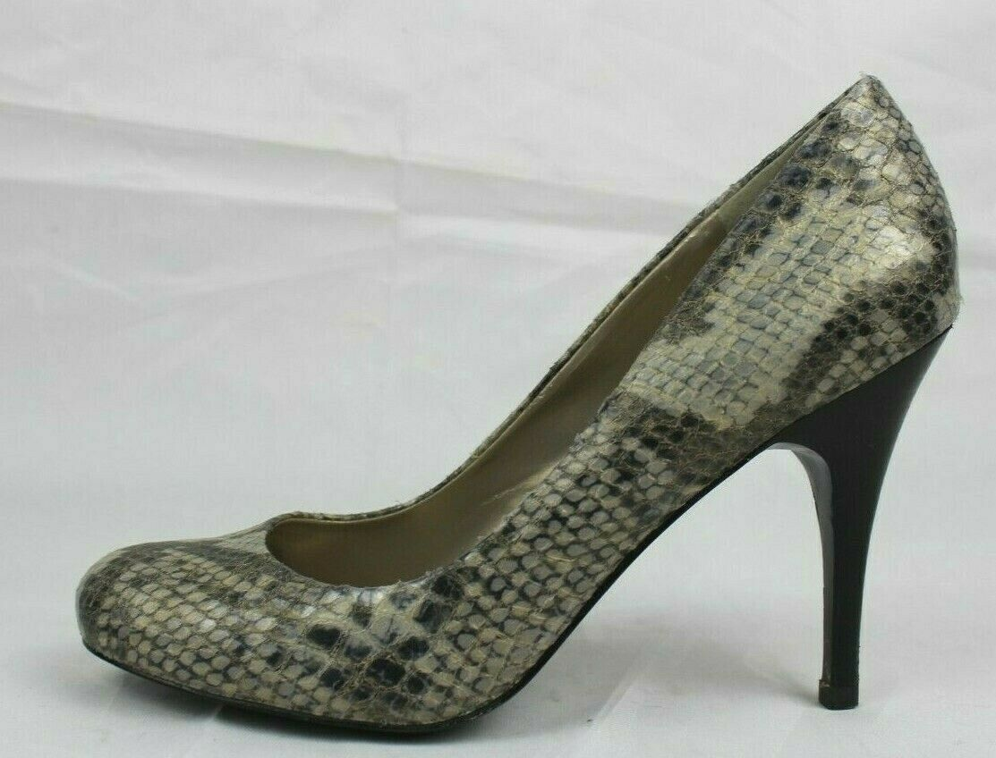 Primary image for JS Jessica Simpson Oscar women's shoes heels animal print gray size 7.5B