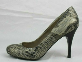 JS Jessica Simpson Oscar women's shoes heels animal print gray size 7.5B - $17.99