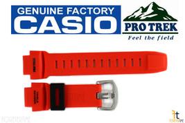 CASIO Pathfinder PRW-3500Y-4 Original Orange Rubber Watch BAND Strap - $52.15