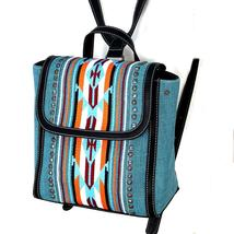NWT Montana West Aztec Turquoise Backpack image 2