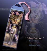 Feline Fantasy Cat Bookmark - $3.00
