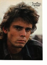 C Thomas Howell Don Johnson magazine pinup clipping sunglasses table Bop