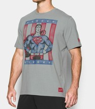 Under Armour Mens UA DC Comics Alter Ego Retro Superman T-Shirt Sizes XL... - $32.27