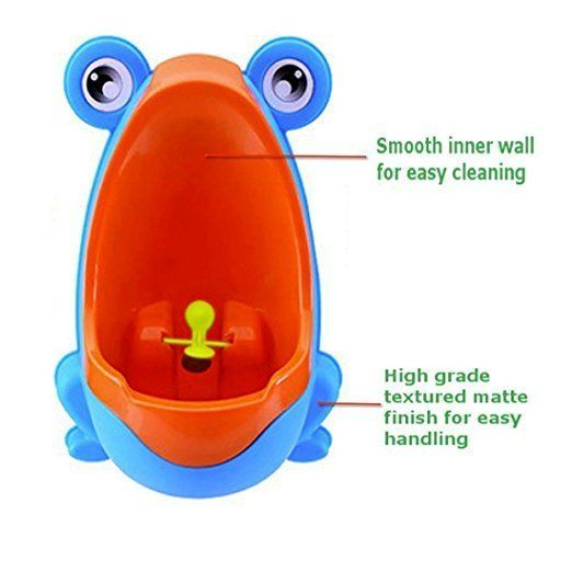 Frog Boy Potty Training Urinal Removable Child Toilet Pee Trainer Kid Bathroom