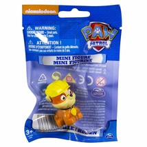 Paw Patrol Miniature Pup Figurine Rubble BPA Free Plastic 1.5 in. Tall - $4.98