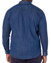 Levi's Men's Big & Tall Barstow Western Pearl Snap Casual Denim Dress Shirt image 10