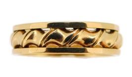14k Yellow Gold Pierced Eternity Band 5.1mm (#J3915) - $255.00