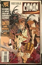 1995 CONAN Marvel Comic Book #1 First Issue Direct Edition August Vintag... - $9.75