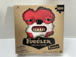 Fuggler Funny Ugly Monster 100 Piece Puzzle By Cardinal and Spin Masters... - $12.20