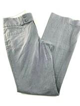 "Banana Republic Martin Fit  Gray Pinstripe Bootcut Pants 2 26x31"" - $19.75"