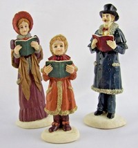 "VTG- L&L Trading Co-CAROLERS-Period Dress-5.5""-Male-Female-Girl -Resin-C... - $51.43"
