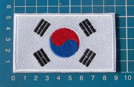 Korea Korean Flag sew on embroidery patch - $6.99
