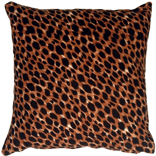 Primary image for Pillow Decor - Cheetah Print Cotton Large Throw Pillow