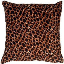 Pillow Decor - Cheetah Print Cotton Large Throw Pillow - $24.95