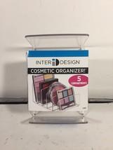 interdesign cosmetic organizer 5 compartments - $12.50