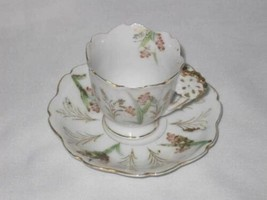 """Neat Vintage 1 3/8"""" Cup And 4 1/2"""" Saucer Occupied Japan  AS IS - $12.08"""