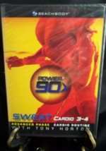 Power 90 SWEAT Cardio 3-4 with Tony Horton - 2005 Fitness DVD-New - $7.91