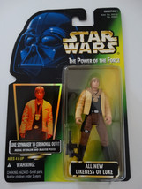 1996 Star Wars POTF Luke Skywalker In Ceremonial Outfit Blaster Pistol Figure - $15.00