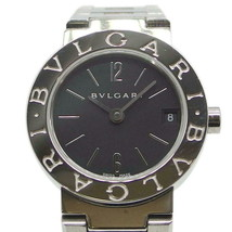 BVLGARI watch BB23SS Quartz black dial Used Excellent condition Women La... - $789.12