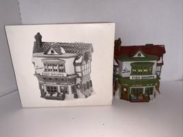 Dept 56 Dickens Village The Mermaid Fish Shoppe #59269 - $15.00