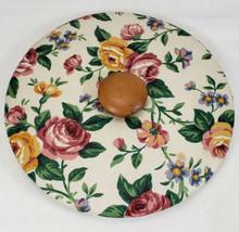 Longaberger Fabric Covered Lid for Medium Fruit Basket (I think) - $17.99