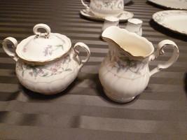 mint Noritake Brookhollow creamer & sugar bowl china dishes - $49.99