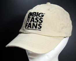 Big Ass Fans Khaki & Black HAT Cap Flexfit Promotional Advertising Memorabilia - $14.95