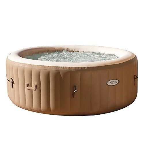 Inflatable Hot Tub Spa 4 Person Lay Z Pool Palm Premium Heated Portable Filter
