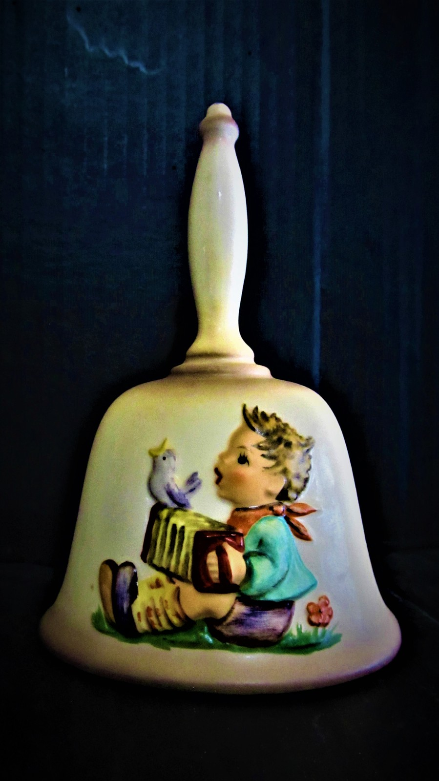 M. J. Hummel Annual Christmas Bell in bas-relief 1978 - $24.99