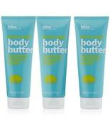 3 BLISS Body Butter Lemon & Sage Maximum Moisture Cream Skin Lotion 6.7o... - $44.52
