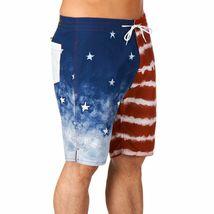 Kr3w Mens Medicate America USA Stars % Stripes Swim Surf Board-Shorts NWT image 3