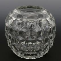 "Fostoria American Crystal Bowl 5"" Rose"